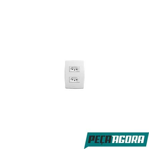 2 TOMADAS MEC-PLUS 2P + T COM P 10A 39705 (23609CC)