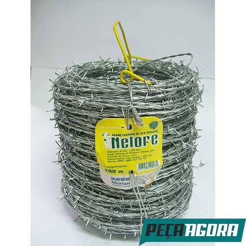 ARAME FARPADO 100MT FIO 16 NELORE MORLAN (4860CC)