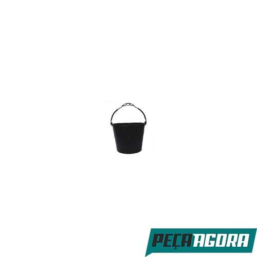 BALDE PARA CONCRETO PRETO CDK 12LT PACOTE C/ 12 (21092CC)