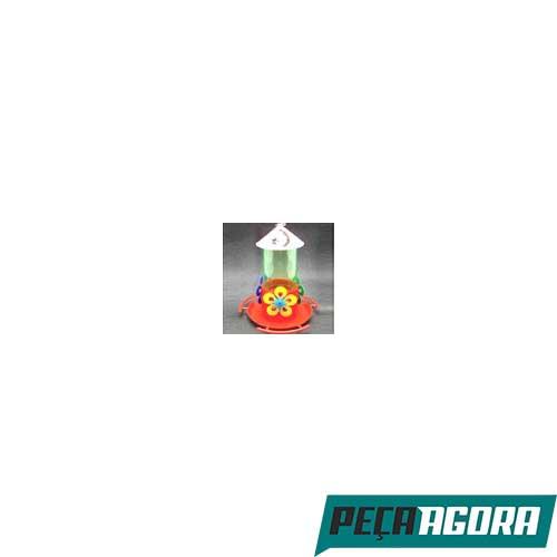 BEBEDOURO BEIJA-FLOR COM POLEIRO E CHAPEU INJETFOUR (21052CC)
