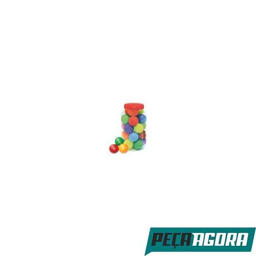 BOLA LIDER PET COLORIDA LISA COM 20 (21624CC)