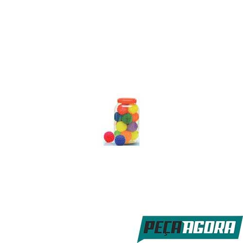 BOLA LIDER PET COLORIDA P COM CRAVO COM 20 (21622CC)